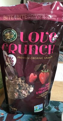 Love crunch dark chocolate and red berries - Producto