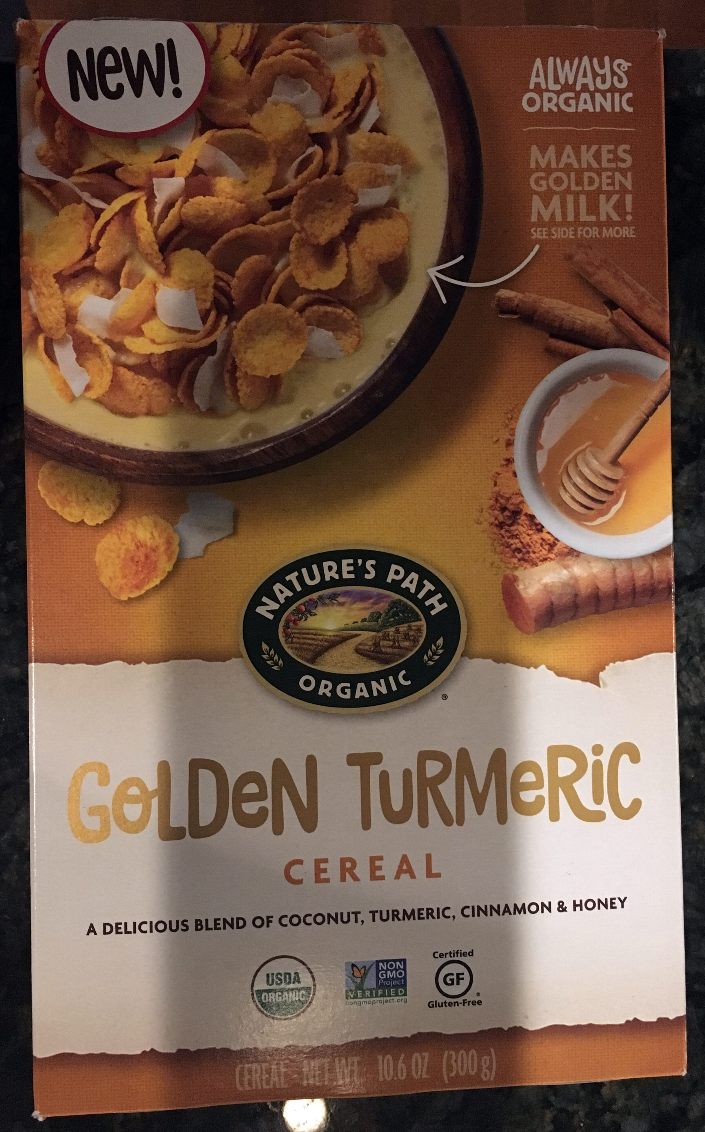 Golden Turmeric Cereal - Product