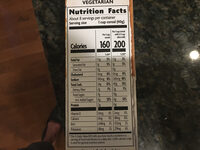 Golden Turmeric Cereal - Nutrition facts