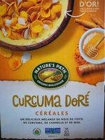 Céréales Curcuma doré - Product - fr