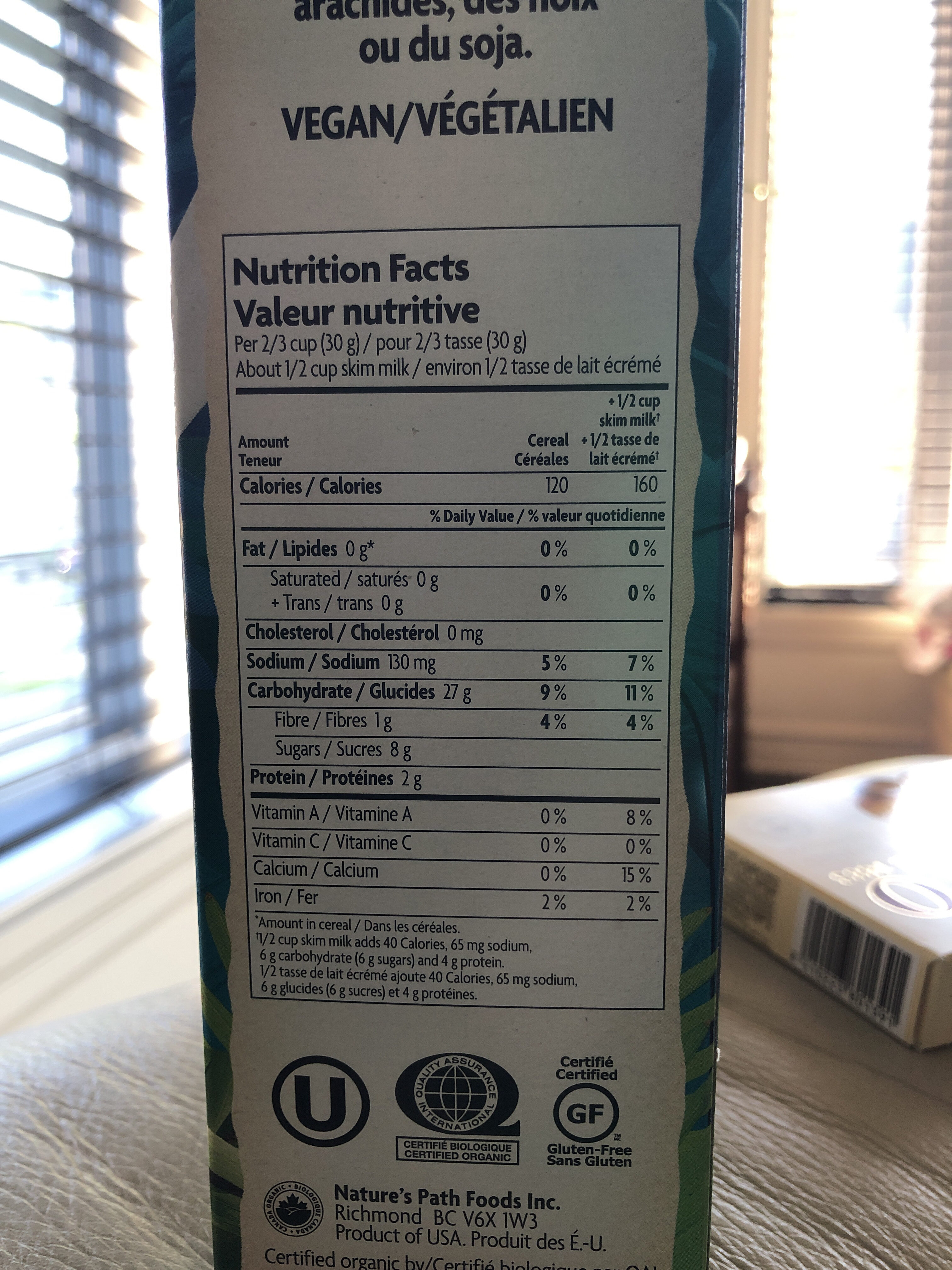 Frosted Amazon Flakes - Informations nutritionnelles - fr