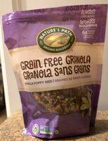 Grain Free Granola Vanilla Poppy Seed - Product - en