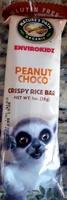 Peanut choco crispy rice bar - Product - en