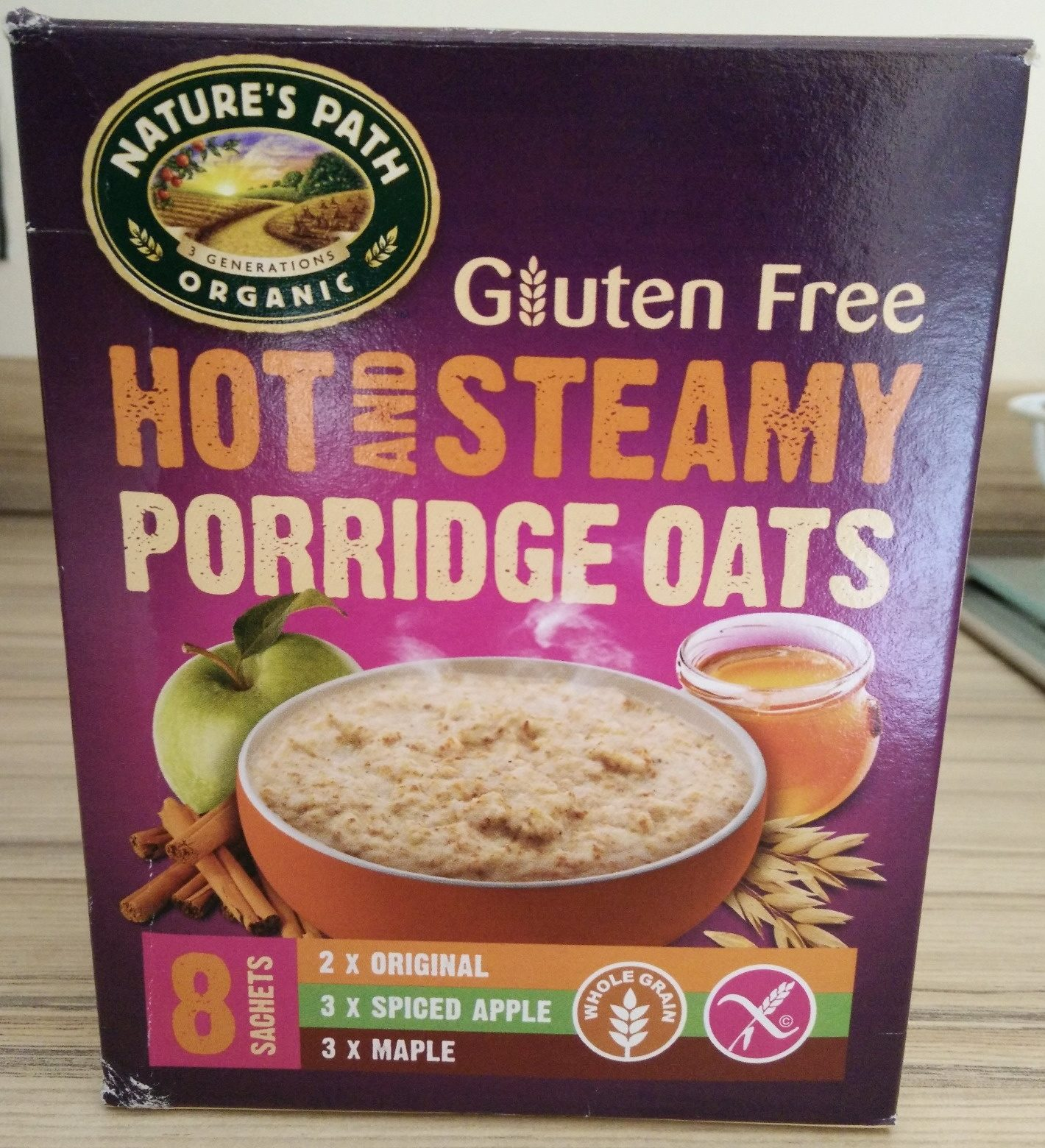 Hot & Steamy Porridge Oats - Product