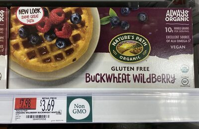 Buckwheat waffles - Product - en