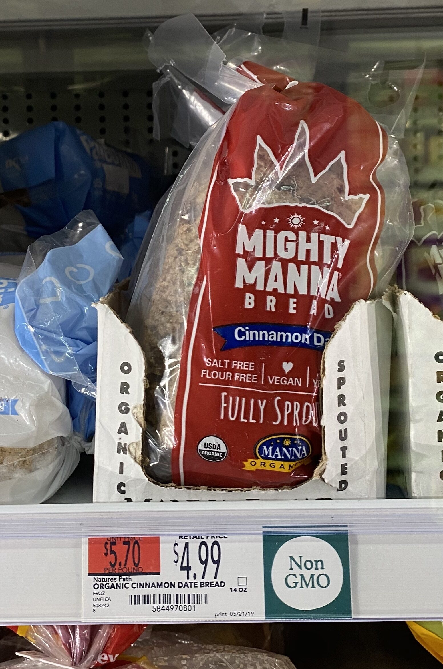 Manna bread - Product - en