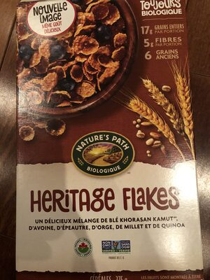 Nature's Path, Organic Heritage Flakes - Product