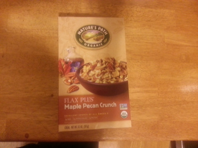 Flax Plus maple pecan crunch - Product
