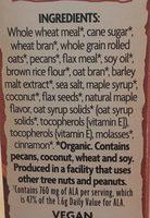 Maple pecan crunch - Ingrediënten - en