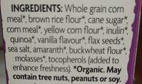 Sunrise / croquant à la vanille - Ingredients - en