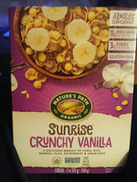 Natures Path Cereal Sunrise Crunchy Vanilla - Product - en