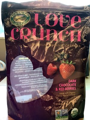Organic Love Crunch Premium Organic Granola Dark Chocolate & Red Berries - Product