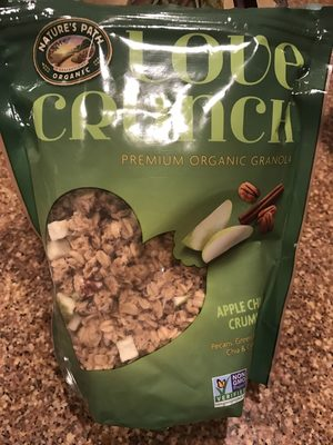 Love Crunch Apple Chia Crumble - Product