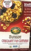 Sunrise Croquant à la Cannelle - Produit - en