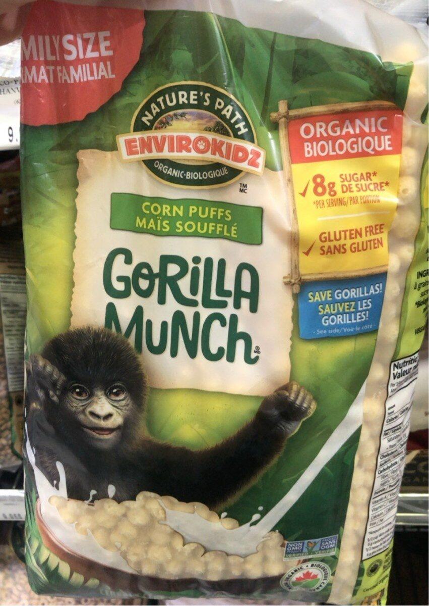 Céréales Biologiques Gorilla Munch (sans Gluten) - Product - fr