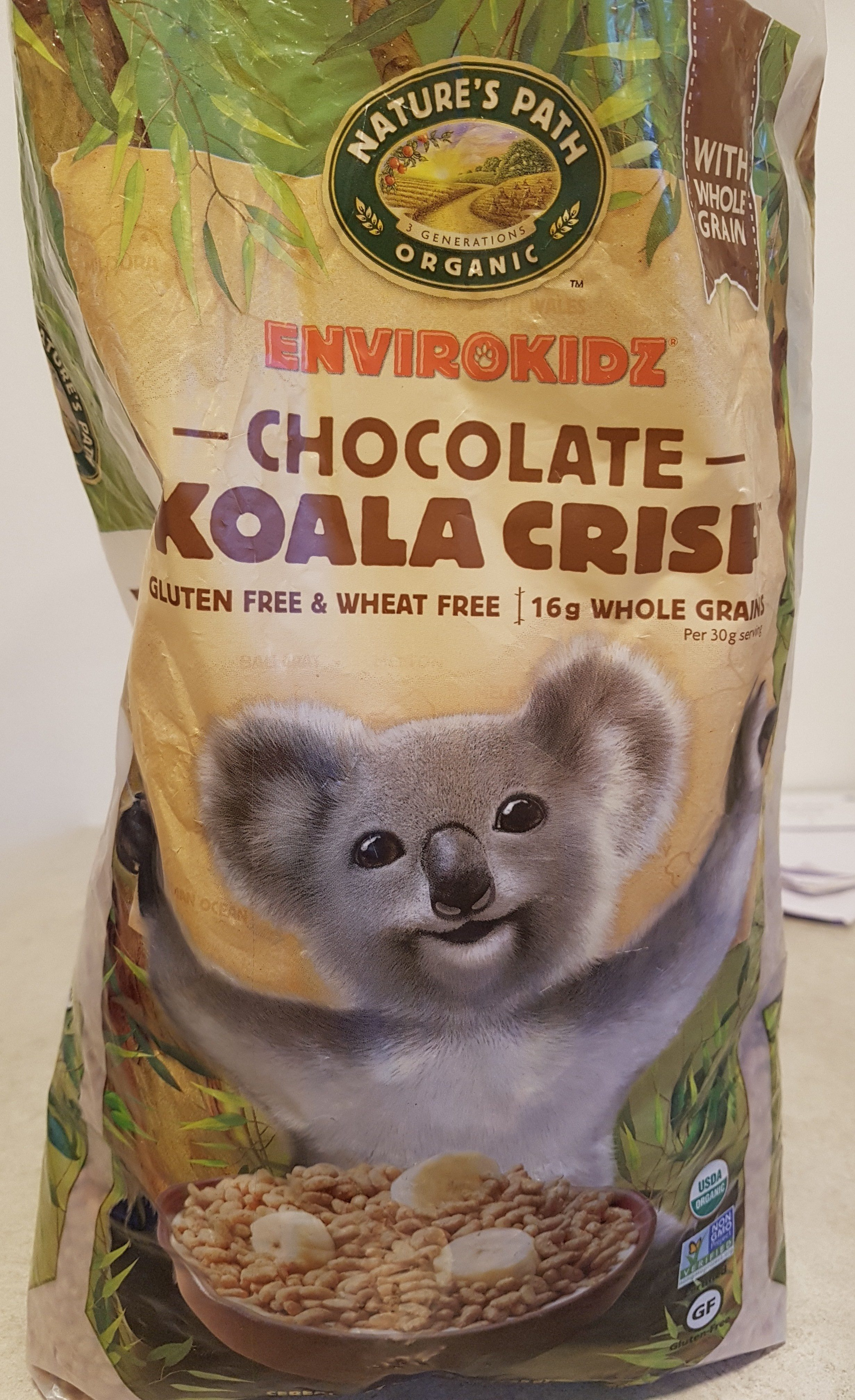 Koala crisp cereal - Product - en