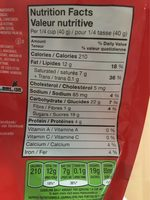 M&M's Peanut Butter - Nutrition facts