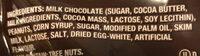 Snickers : Bites / bouchées - Ingredients - en