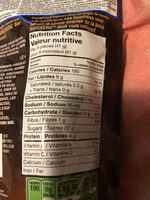 Snickers : Bites / bouchées - Nutrition facts - en
