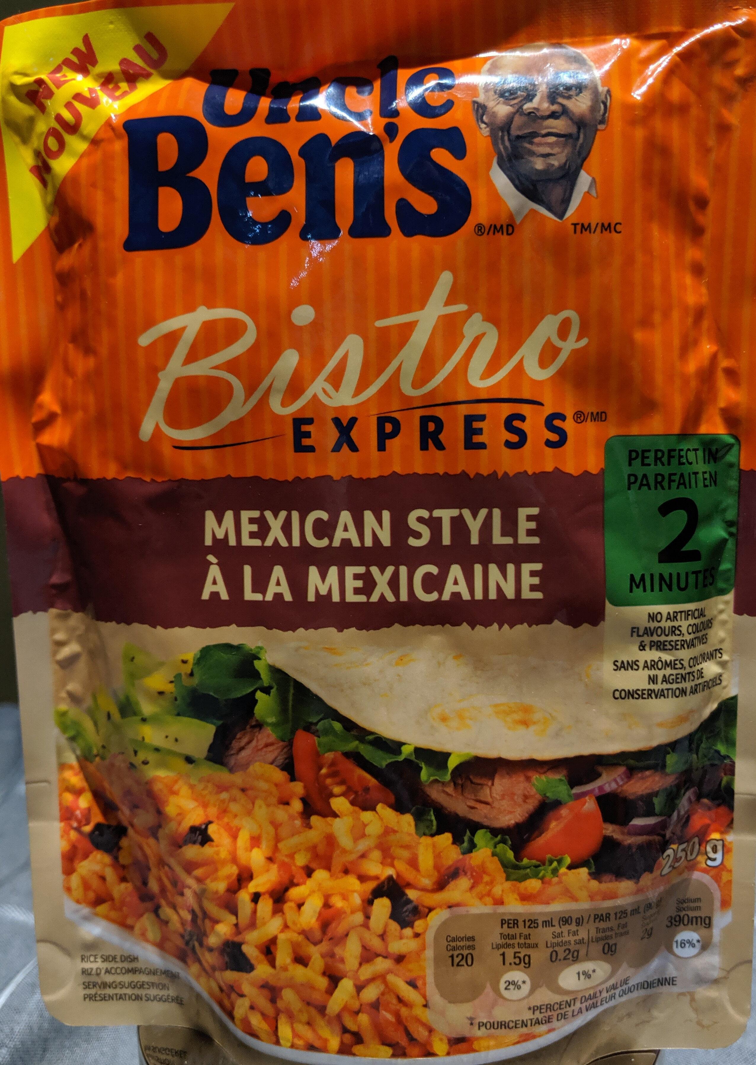 Bistro express à la mexicaine - Produit - fr