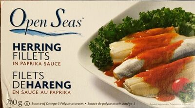 Herring Fillets in Paprika Sauce - Product - fr