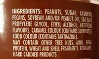 Mélange de noix pralinées - Ingredients - en