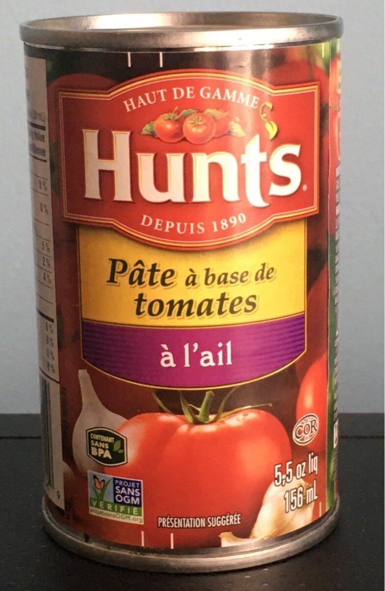 Hunt's, tomato paste, garlic, hunt's, tomato paste, garlic - Product - en
