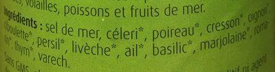 Herbamare - Ingrédients - fr
