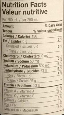 VITA 7 - Nutrition facts