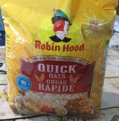 Quick oats - Produit - fr