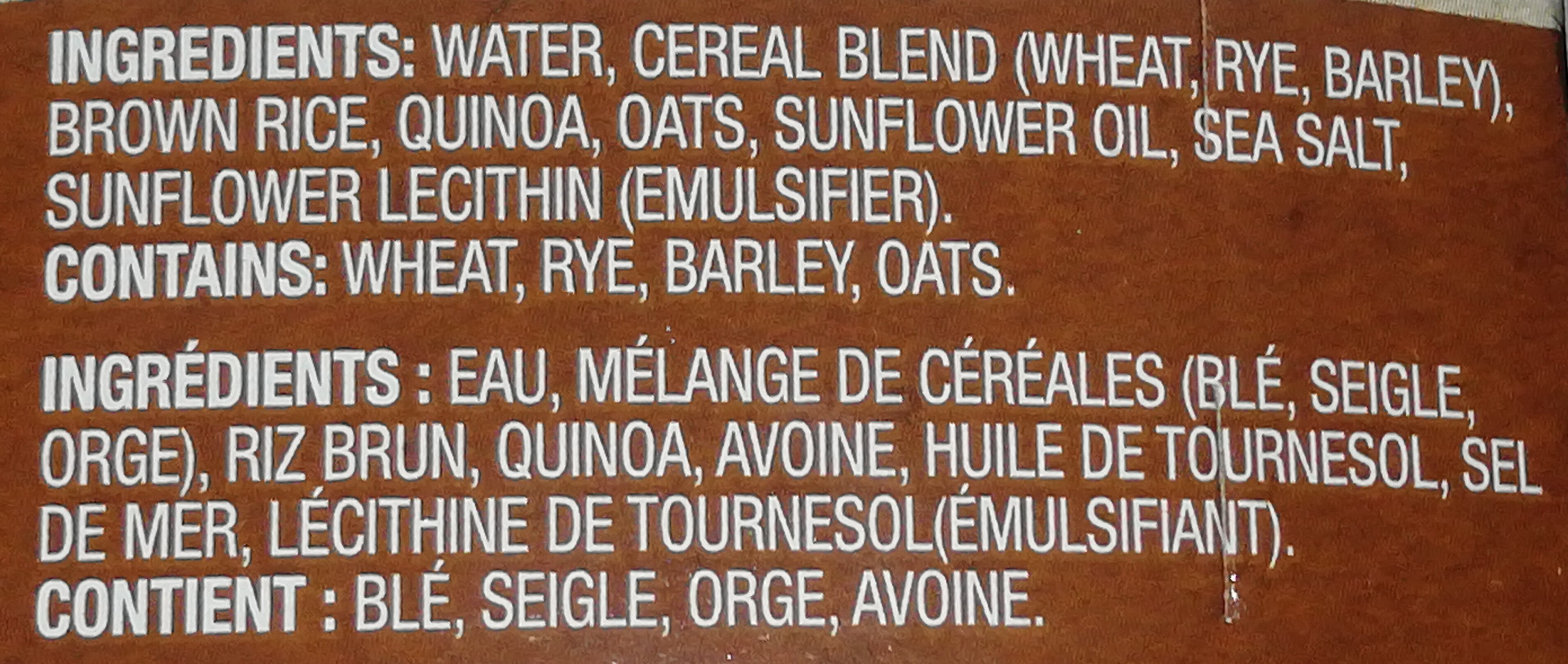 Riz Brun - Ingredients - en