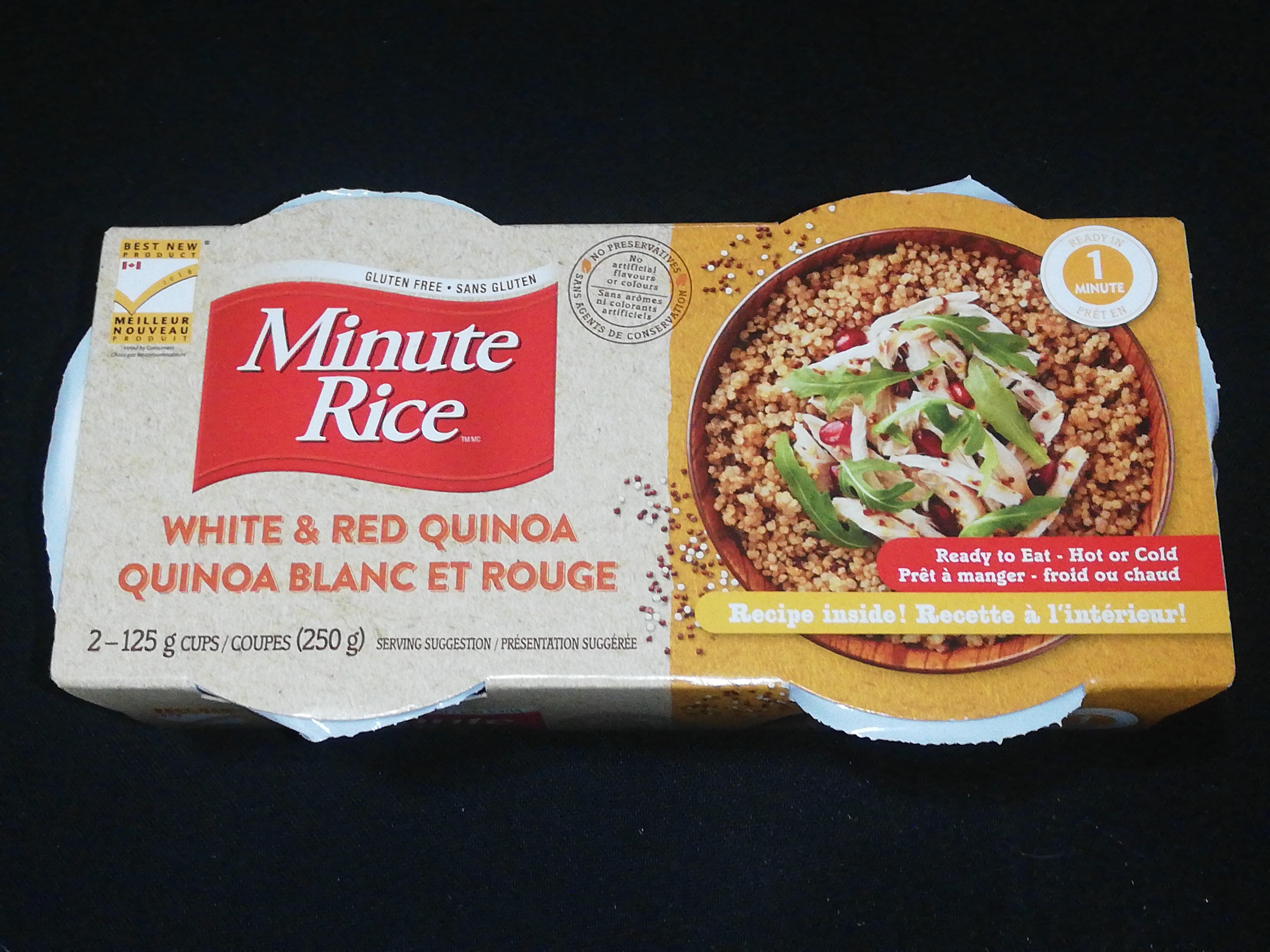 Quinoa blanc et rouge - Produit - en