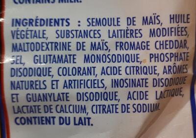 Cruncheez - Ингредиенты - fr