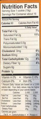 HobNobs - Nutrition facts - en