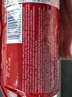 Dark chocolate flavour wheat biscuits - Ingredients - en