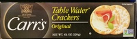 Table Water Crackers - Product