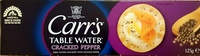 Water Crackers Cracked Pepper - Product