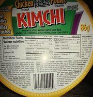 Kimchi au poulet - Prodotto - fr