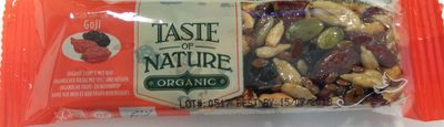 Barres aux Noix et aux Fruits Baies de Goji - Product - fr