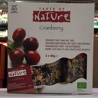 Cranberry Snack Bars - Product - en