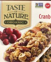 Cranberry Snack Bars - Produit - fr