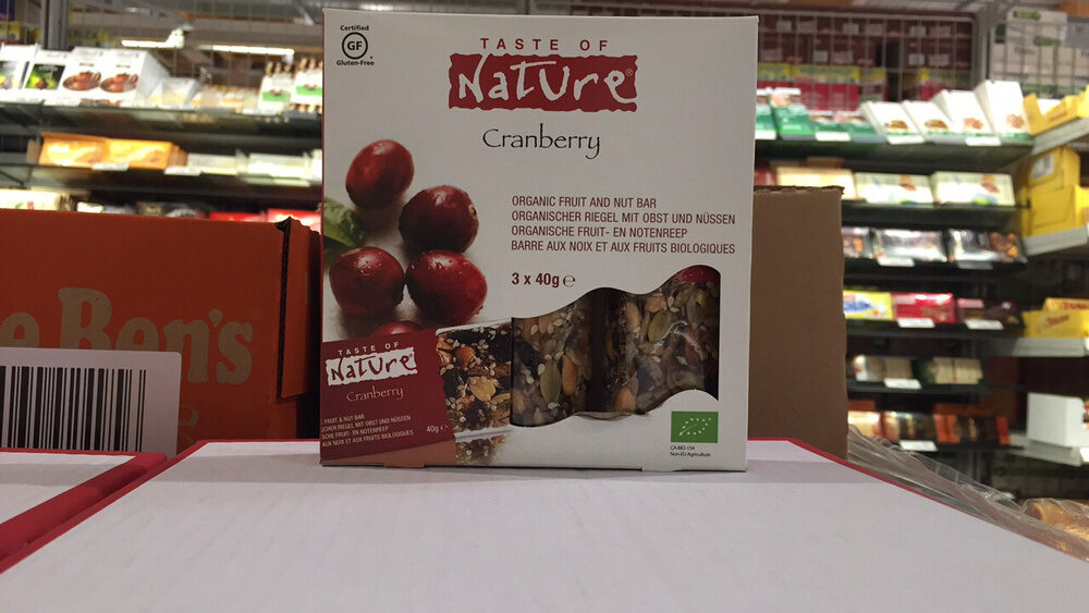 Cranberry Snack Bars - Recycling instructions and/or packaging information - en