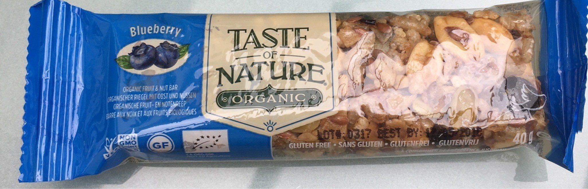 Taste Of Nature - Blueberry Granenreep - Product - fr
