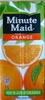 Orange Minute Maid - Product