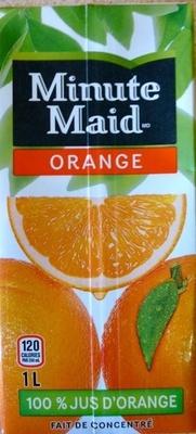Orange Minute Maid - Product - en