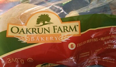 Muffins anglais English muffins - Product - fr