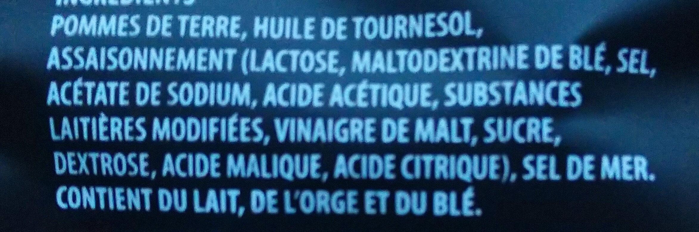 Croustilles à l'ancienne - Ingrédients - fr