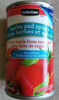 Pâte faite de tomates, fines herbes et épices - Product - fr