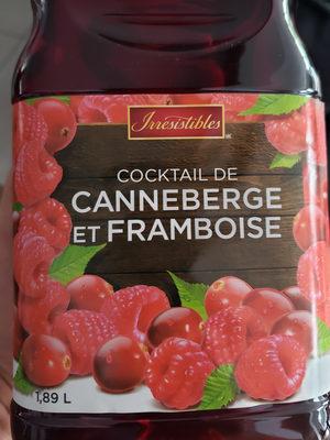 cocktail de canneberges et framboises - Product - fr