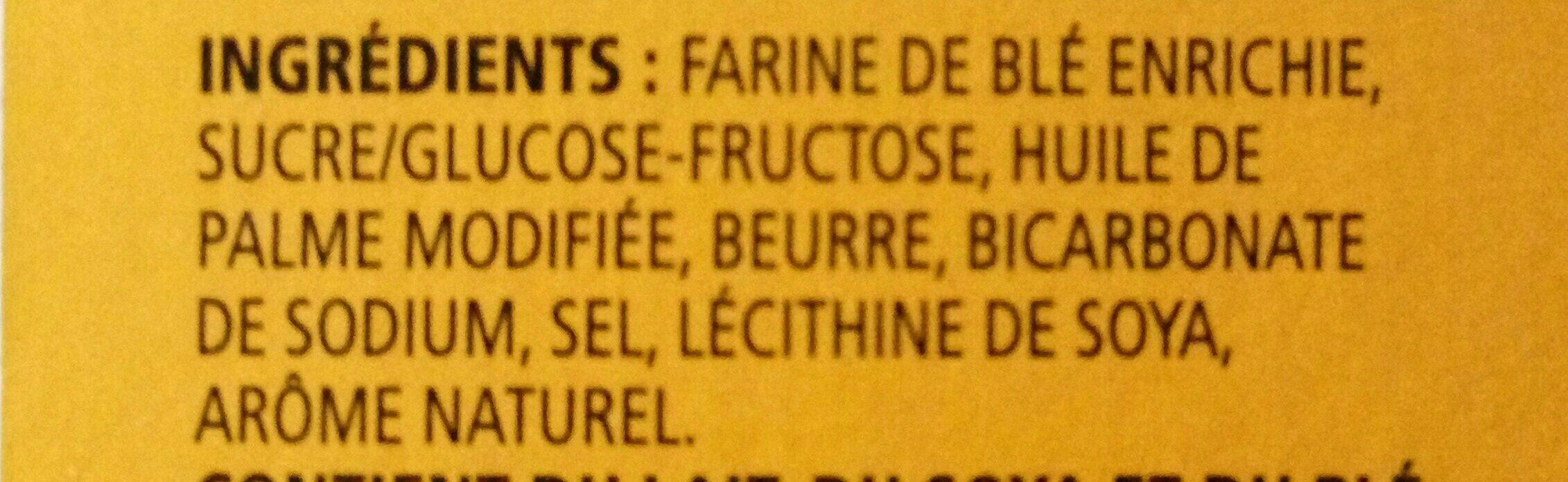 Petit beurre cookies - Ingrédients - fr
